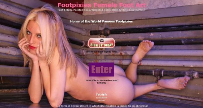 FootPixies.com – SITERIP