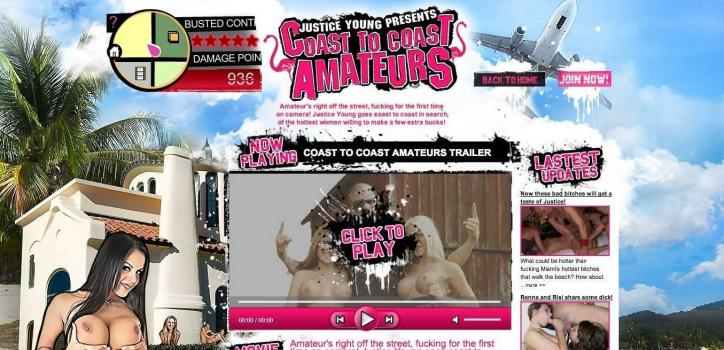 CoastToCoastAmateurs.com – SITERIP