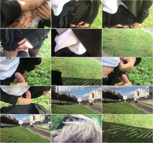 LucaWMia - Risky Sex in the Street in Paris - Eiffel Tower [FullHD 1080P]