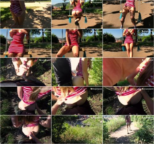 Cocopumpum - Very Risky Public Quickie with my Teen Girlfriend in Prague [FullHD 1080P]