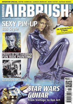 Airbrush Step by Step English Edition – January-March 2020