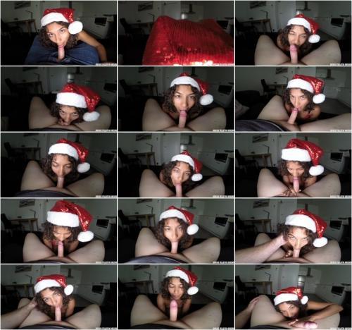 Rubi Valentine Christmas Blowjob [FullHD 1080P]