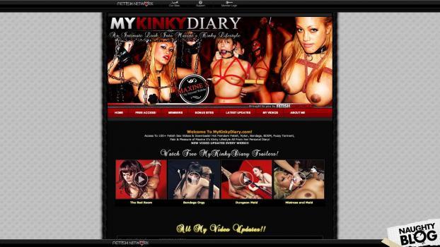 MyKinkyDiary.com - SITERIP