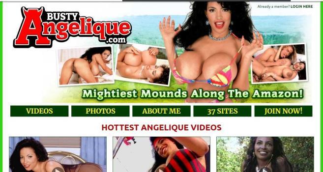 BustyAngelique.com – SITERIP