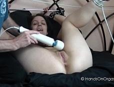 Eva Tied Up & Cumming