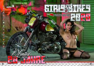 Girls & Bikes – Erotic Calendar 2020
