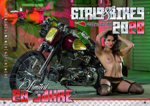 Girls & Bikes – Erotic Calendar 2020
