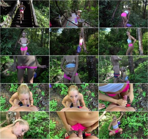 ibarbie - CUM into's PANTIES among Trees. Peeing Girl. Save the Clean Planet. [FullHD 1080P]