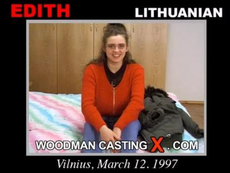 Edith - added 2009-01-12 casting X